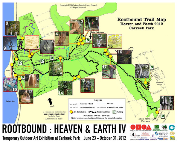 Rootbound Trail Map